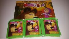 PANINI ALBUM +50 packets bustine DISPLAY figurine tuten MASHA E ORSO BEAR box