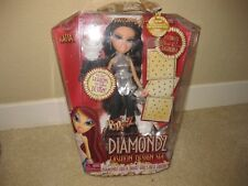 NEW in BOX FOREVER DIAMONDZ KATIA BRATZ DOLL FASHION DESIGN SET MGA