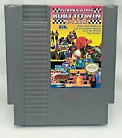 Formula One: Built to Win (Nintendo Entertainment System | NES ) - Rare - Tested