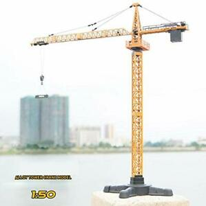Top Race Extremely Detailed Diecast Metal Tower Crane Construction Vehicle Model