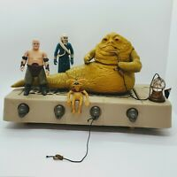 Vintage Star Wars 1983 Jabba The Hutt Playset Salacious Two Henchmen Lot Kenner