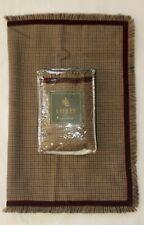 RALPH LAUREN Home GROSVENOR SQUARE Standard Sham Wool Velvet NWT Rare
