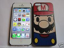 Classic Super Mario Bros. iPhone 5 5s Designer Luxury Full Back Protective Case