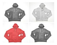 $48 NWT NEW Mens Rocawear Marled Moto Fleece Zip Hoodie Sweatshirt Urban N531