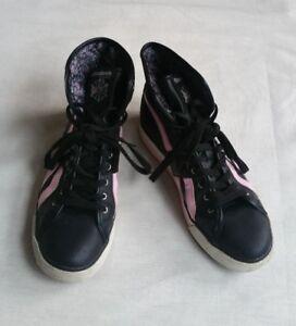 Reebok Classic Black Pink White Trainers UK 4.5, EU 36.5