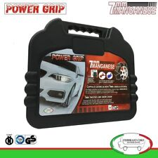 Catene da Neve Power Grip 7mm Omologate gruppo 100 per gomme 225/45R18 Fiat 500X