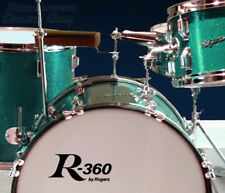 R-360, by Rogers ,Vintage, Repro Logo - Adhesive Vinyl Decal for Bass Drum Head