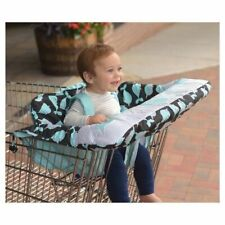 *New* Go By Goldbug Shopping Cart & High Chair Cover Narwhals (Whales) (w/o pkg)
