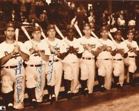 Pee Wee Reese / Duke Snider 8x10 SIGNED PHOTO AUTOGRAPHED (DODGERS HOF) REPRINT