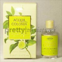 ღ 4711 Acqua Colonia Lime & Nutmeg - Mühlens - Miniatur EDC 8ml