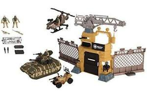 Chad Valley Military Tank and Camp Play set