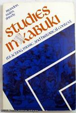 Studies in Kabuki: Its Acting, Music and Historical Context SC Book