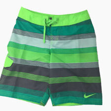 New Nike Big Boys Trunks Swim Drift Board Shorts Size L 14-16 XL 18-20