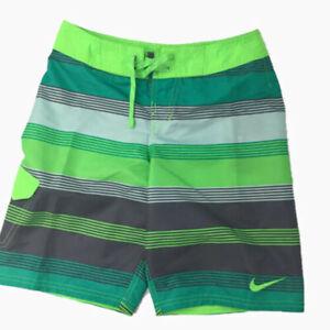 New Nike Big Boys Trunks Swim Drift Board Shorts Size L 14-16 XL 18-20