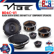 "VIBE Black Death 6c Component 6.5"" 165mm 2-way Car Audio Speakers 840w Bd6c-v1"