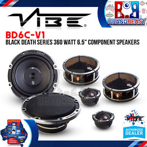 """Vibe BD6C-V1 6.5"""" 420W 2-Way Component Car Speakers"""
