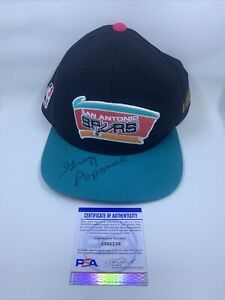Gregg Popovich Signed 1999 NBA Finals Hat PSA/DNA San Antonio Spurs 7 5/8