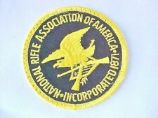 Patch National Rifle Association Of America Incorporated 1871 Embroidered 3""