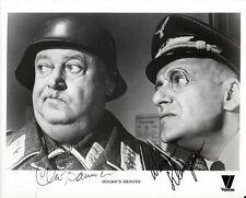 HOGAN'S HEROES CAST SIGNED PHOTO 8X10 RP AUTOGRAPH JOHN BANNER WERNER KLEMPERER