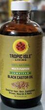 Tropic Isle Living 100% Natural Multi-Purpose Jamaican Black Castor Oil 4oz.