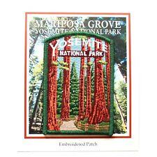 Official Yosemite National Park Souvenir Patch Mariposa Grove Sequoia California