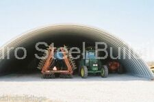DuroSPAN Steel 51x50x17 Metal Quonset Arch Building Open Ends Factory DiRECT