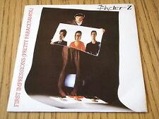 """FISCHER-Z - FIRST IMPRESSIONS   7"""" VINYL PS"""