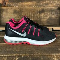 Nike Womens Air Max Dynasty 820270-003 Pink Black Running Sneaker Shoes Size 7