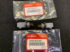 NEW GENUINE HONDA S2000 CR SIDE MARKER LAMP SOCKETS WITH AMBER BULBS