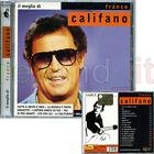 """FRANCO CALIFANO """"IL MEGLIO DI CALIFANO"""" RARO CD 2006 - FUORI CATALOGO"""