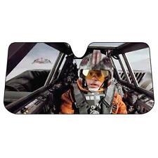 Rare Star Wars Luke Skywalker Snowspeeder Folding Sunshade Plasticolor 003702R01