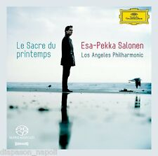 Stravinsky: Le Sacre Du Printemps;  Bartók: Mandarino Miracoloso / Salonen SACD