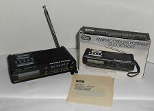 NIB Tozai AM/FM Cordless Portable Clock Radio Model 6868 New In Box