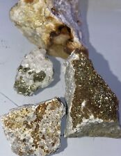 $248 -408 Carat Lot Gold Ore Specimen Quartz!