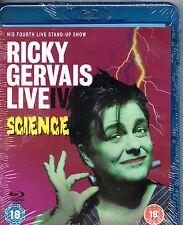 Ricky Gervais: Live IV - Science (Blu-ray) - Region B  -Brand New-Still Sealed