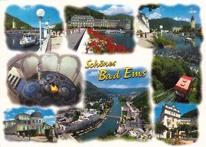 Schönes Bad Ems , Ansichtskarte gelaufen
