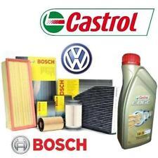Kit tagliando olio CASTROL EDGE 5W30 5LT+4FILTRI BOSCH VW GOLF VI 2.0TDI