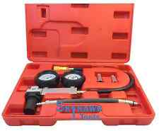 Cylinder Leak-Down Tester Leakage Leak Detector Engine Compression Gauges w Case