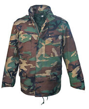 NEU M65 Feldjacke M-65 Jacke US Army Parka Winter Futter Woodland Camouflage XXL