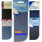 *Iron-On Denim Mend and Repair Patches Bondex etc.