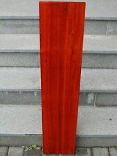 Padouk Brett 102 x 21,8 x 2,5 cm korallenrotes Holz Tonholz