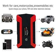 89800mAh 4USB 12V Car Jump Starter Pack Booster Charger Battery Power Bank Kits