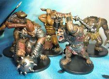 Dungeons & Dragons Miniatures Lot  Ogre Skullcrusher Ogre War Hulk !!  s114