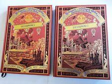 Jules Verne - Die Eissphinx 1 und 2 - Prachtausgabe - Hartleben [UNGELESEN]