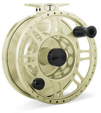 TIBOR RIPTIDE FLY REEL • POLISHED SATIN GOLD • BRAND NEW • MUST SELL!