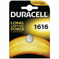 Duracell CR1616 3V Lithium Coin Cell Battery BR1616  DL1616 Long Lasting Power