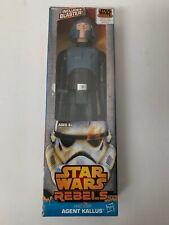 "Hasbro Star Wars REBELS Agent Kallus 12"" Action Figure Hero Series"