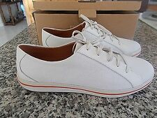 NWT  $118.00 TOMMY BAHAMA Women's CATALINAH White Leather Shoe/Sneaker SZ 10 NEW
