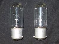 2 x Glühbirne 40W Bajonett B22  B22d - Röhre - Glühlampe Steckbirne (2 Stück)