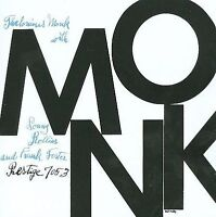Monk QUINTET [1954] Thelonious Monk 1990s PRESTIGE ISSUE CD OJCCD-016-2